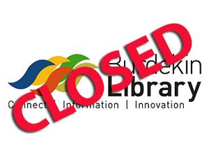 Burdekin Library Closed