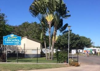 burdekin cascades caravan park image of entrance