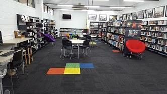 Image of Home Hill Branch Library interior