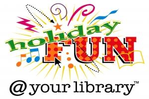 Image of Holiday Fun at your Library logo