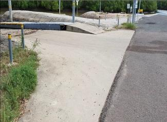 image of plantation creek boat ramp