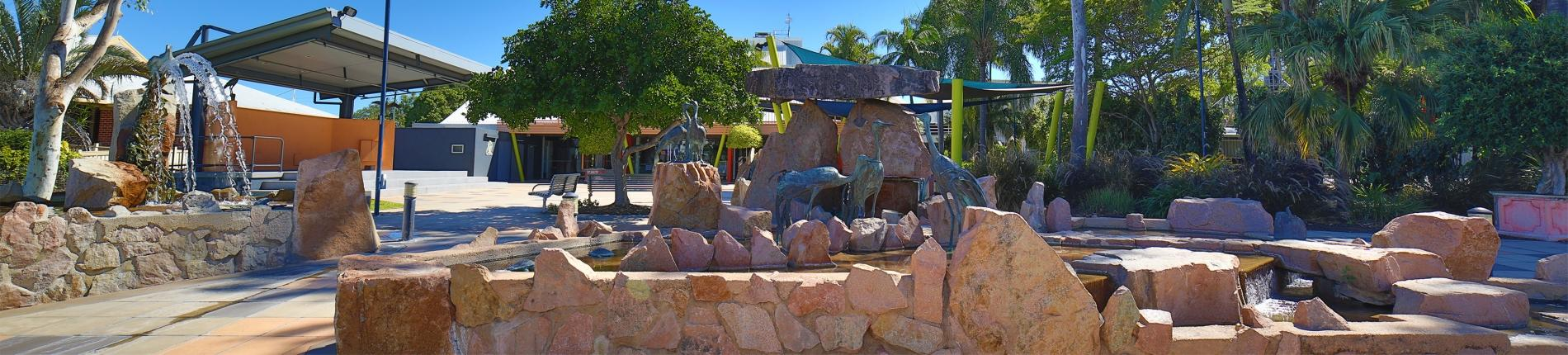 "Burdekin Theatre ""Living Lagoon"" Water Feature"