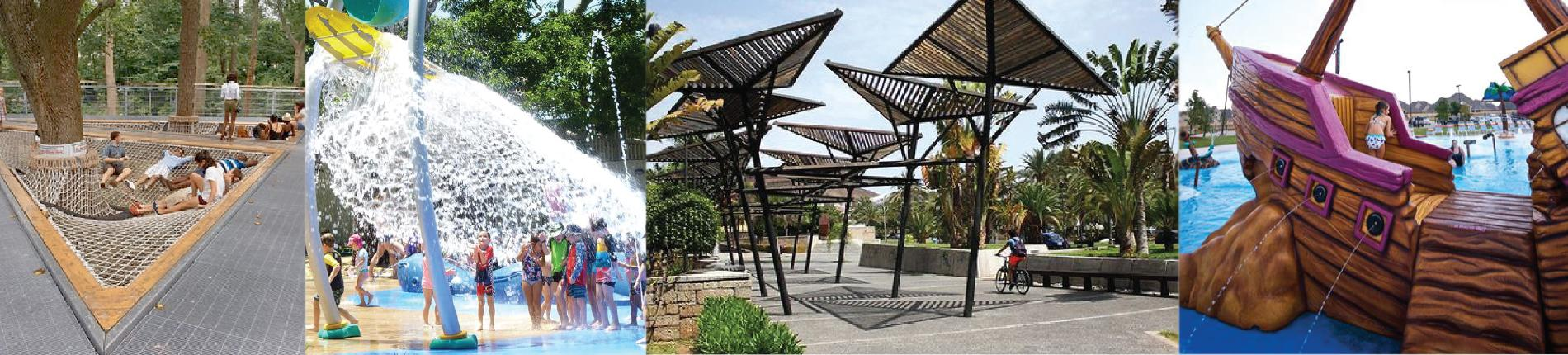 Proposed concept images forming part of the draft Anzac Park Precinct Master Plan.